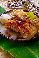 Huli huli chicken plate lunch