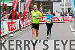 Fintan Ashe, 2 and Paula OLionsigh, 1432  who took part in the 2015 Kerry's Eye Tralee International Marathon Tralee on Sunday.