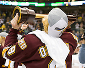 Drew Olson (Duluth - 8) - The University of Minnesota-Duluth Bulldogs celebrated their 2011 D1 National Championship win on Saturday, April 9, 2011, at the Xcel Energy Center in St. Paul, Minnesota.