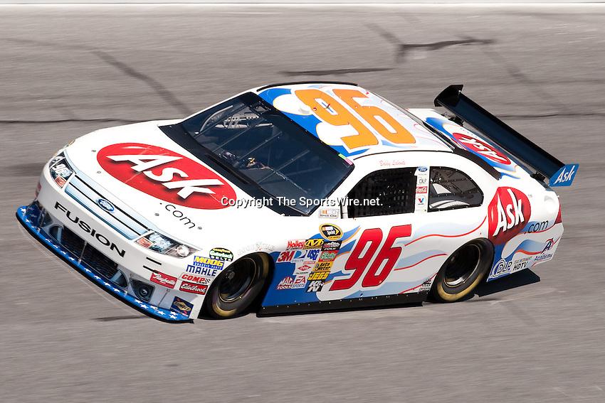 Feb 08, 2009; 1:21:18 PM; Daytona Beach, FL, USA; NASCAR Sprint Cup Series qualifying for the Daytona 500 at Daytona International Speedway.  Mandatory Credit: (thesportswire.net)