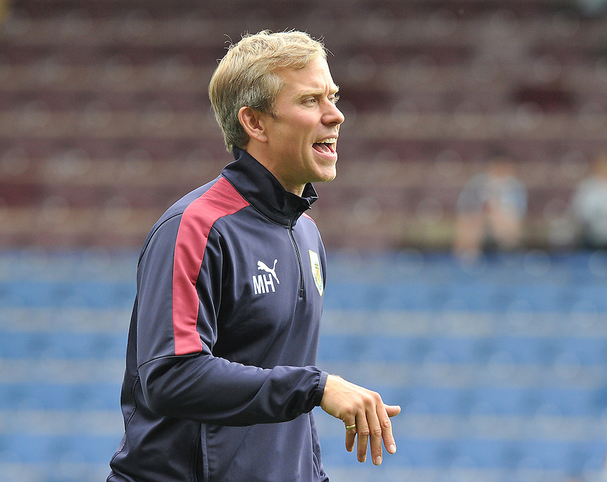 Burnley's Head of Sports Science - Mark Howard<br /> <br /> Photographer Dave Howarth/CameraSport<br /> <br /> Football - The Football League Sky Bet Championship - Burnley v Brentford - Saturday 22nd August 2015 - Turf Moor - Burnley<br /> <br /> &copy; CameraSport - 43 Linden Ave. Countesthorpe. Leicester. England. LE8 5PG - Tel: +44 (0) 116 277 4147 - admin@camerasport.com - www.camerasport.com