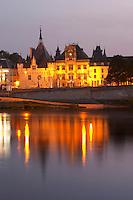 The Hotel de Ville. Saumur, Loire, France