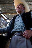 Don Federico Rodriguez Parada at his Tinacal in San Jose Buenavista. Pulque route Tlaxcala, Mexico June 6, 2007