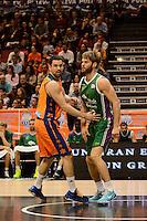 Mart&iacute;nez vs Stefansson<br /> Liga Endesa ACB - 2014/15<br /> J8<br /> Valencia Basket vs Unicaja