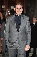 David Walliams arriving for the I Can't Sing Press Night, at the Paladium, London. 26/03/2014 Picture by: Alexandra Glen / Featureflash