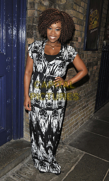 LONDON, ENGLAND - JULY 20: Dominique Moore attends the &quot;Top Hat&quot; charity fundraising show, Theatre Royal, Drury Lane, on Sunday July 20, 2014 in London, England, UK. <br /> CAP/CAN<br /> &copy;Can Nguyen/Capital Pictures