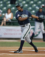 New Orleans Zephyrs Anderson Hernandez during the 2007 Pacific Coast League Season. Photo by Andrew Woolley/ Four Seam Images.