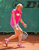 Netherlands, Amstelveen, August 22, 2015, Tennis,  National Veteran Championships, NVK, TV de Kegel,  Lady's 40+, Marouschka van Dijk<br /> Photo: Tennisimages/Henk Koster