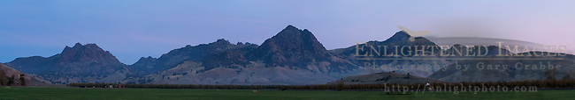 The Sutter Buttes, Sutter County, California