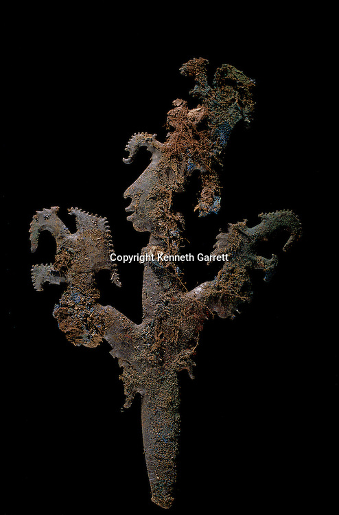 Copan; Honduras; Maya; Ricardo Agurcia, Rosalilla Temple, Eccentric Flint