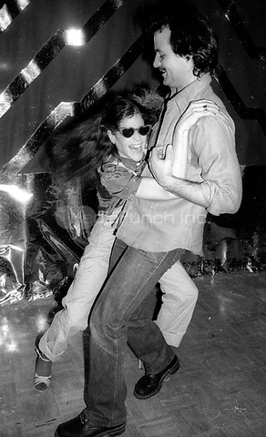 1978 <br /> New York City<br /> Gilda Radner Bill Murray at Studio 54<br /> Credit: Adam Scull-PHOTOlink/MediaPunch