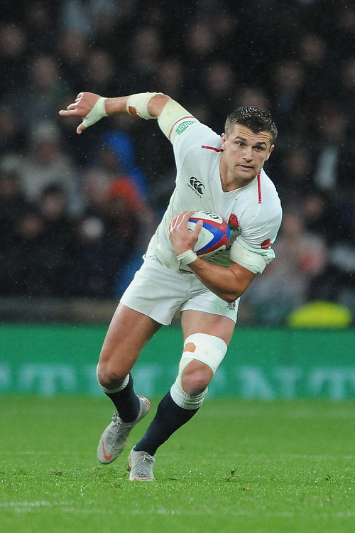 Henry Sladeof England in action during the Quilter International match between England and New Zealand at Twickenham Stadium on Saturday 10th November 2018 (Photo by Rob Munro/Stewart Communications)