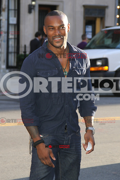June 27, 2012 Tyson Beckford at the special screening of Universal Pictures' Savages at the SVA Theater in New York City. &copy; RW/MediaPunch Inc *NORTEPHOTO*COM*<br />