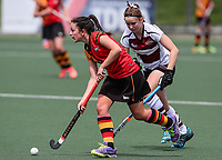 North Harbour v Waikato. Action during the U-15 Premier Girls Hockey Nationals. North Harbour Hockey, Auckland, New Zealand. Monday 4 October 2017. Photo:Simon Watts / www.bwmedia.co.nz