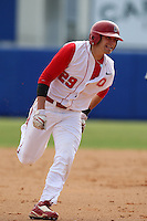 March 23, 2010:  Brian DeLucia of the Ohio State University Buckeyes during a game at the Chain of Lakes Stadium in Winter Haven, FL.  Photo By Mike Janes/Four Seam Images