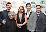 Mark Evans, Ken Jennings, Melissa errico, Ryan Silverman and Max Von Essen attends the 'Sondheim at Seven' 2017 Gala Benefit Production at Town Hall on June 13, 2017 in New York City.