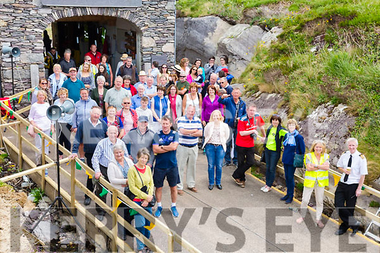 A great attendance for the Derrynane Inshore Rescue Open Day and Coast Guard display on Sunday at the Rescue Boat Shed.