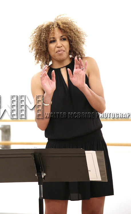 """Lana Gordon During the Open Rehearsal for the Miami New Drama's World Premiere Musical  """"A Wonderful World"""" at the Ripley-Grier Studios on January 26, 2020 in New York City."""