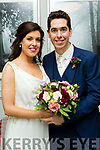 Fiona Brosnan, daughter of Dan&Margaret, Knocknagoshel and Cathal Smith, son of Francis&Maura, Foothill, Co Cavan who married last Saturday Sept 9th in St Mary's church, Knocknagoshel with Fr Eoin  Mangan officiating. Bestman was Conor Carolan, groomsmen were John Fitzpatrick&Adam Bates. 1st bridesmaid was Julie O'Sullivan, others were Brigit Snell&Miriam O'Rahilly. The reception was in the Ballyroe Heights hotel, Tralee and the couple will reside in Cavan.