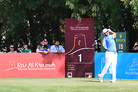Jos&eacute;-Filipe Lima (POR) in action during round 3, Ras Al Khaimah Challenge Tour Grand Final played at Al Hamra Golf Club, Ras Al Khaimah, UAE. 02/11/2018<br /> Picture: Golffile | Phil Inglis<br /> <br /> All photo usage must carry mandatory copyright credit (&copy; Golffile | Phil Inglis)