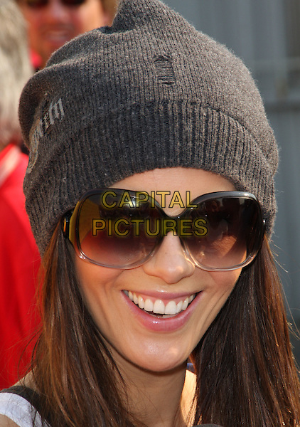 """KATE BECKINSALE .""""2008 P.S. ARTS' Express Yourself"""" Sponsored By Target Event, Santa Monica, California, USA..November 16th, 2008.headshot portrait sunglasses shades grey gray knitted beanie hat .CAP/ADM/KB.©Kevan Brooks/AdMedia/Capital Pictures."""