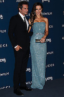 LOS ANGELES, CA - NOVEMBER 02: Len Wiseman, Kate Beckingsale at LACMA 2013 Art + Film Gala held at LACMA on November 2, 2013 in Los Angeles, California. (Photo by Xavier Collin/Celebrity Monitor)