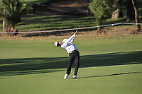 Jazz Janewattananond (THA) in action on the 11th during Round 2 of the ISPS Handa World Super 6 Perth at Lake Karrinyup Country Club on the Friday 9th February 2018.<br /> Picture:  Thos Caffrey / www.golffile.ie<br /> <br /> All photo usage must carry mandatory copyright credit (&copy; Golffile | Thos Caffrey)