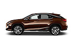 Car Driver side profile view of a 2016 Lexus RX Privilege Line 5 Door Suv Side View