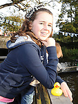 Jane Matthews pictured at the Termonfeckin Celtic duck race. Photo: Colin Bell/pressphotos.ie