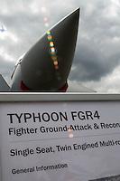 Eurofighter Typhoon.    Farnborough International Airshow ..