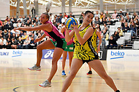 Central Manawa&rsquo;s Saviour Tui in action during the Beko Netball League - Central Manawa v Southern Blast at ASB Sports Centre, Wellington, New Zealand on Sunday 12 May 2019. <br /> Photo by Masanori Udagawa. <br /> www.photowellington.photoshelter.com