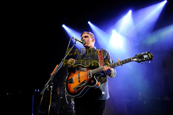 LONDON, ENGLAND - OCTOBER 24: George Ezra performing at Shepherd's Bush Empire on October 24, 2014 in London, England.<br /> CAP/MAR<br /> &copy; Martin Harris/Capital Pictures