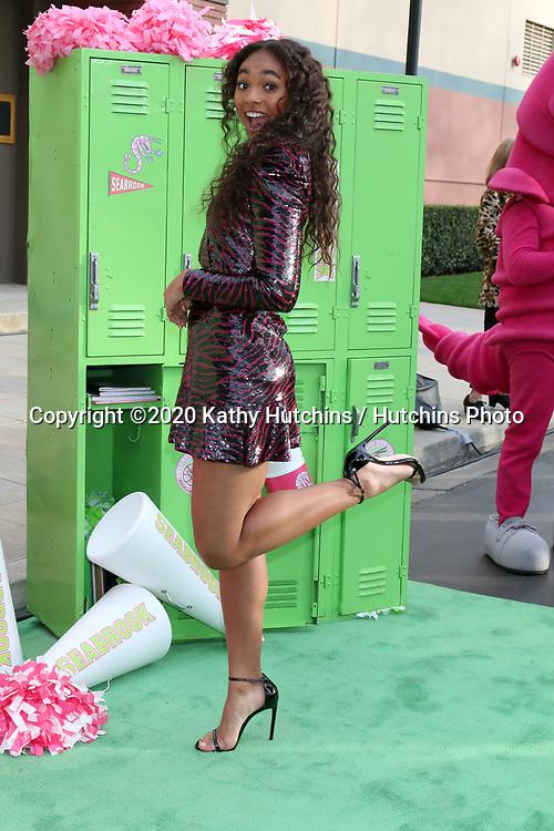 "LOS ANGELES - JAN 25:  Chandler Kinney at the ""Zombies 2"" Screening at the Disney Studios on January 25, 2020 in Burbank, CA"