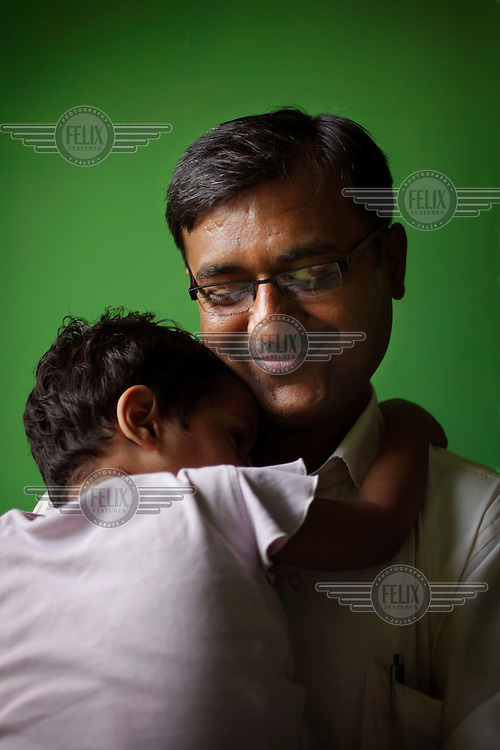 37 year old Doctor Haresh Guptav works for the organisation Naz (meaning Pride) based in Delhi, which looks after 45 HIV positive orphans in Naz's care home, and also acts as a drop-in centre for people living with HIV/AIDS..