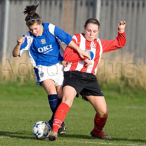 Lincoln City ladies vs Portsmouth.Womens FACup 4th Round.Collingham, Notts.27/01/08 (Photo: Mark Hodsman/ActionPlus)