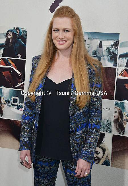 Mireille Enos  at the If I Stay Premiere at the TCL Chinese Theatre in Los Angeles.
