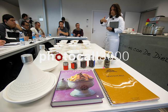 Master Class de la cocinera Fatema Hal, Restaurante Mansouria, en el Basque Culinary Center