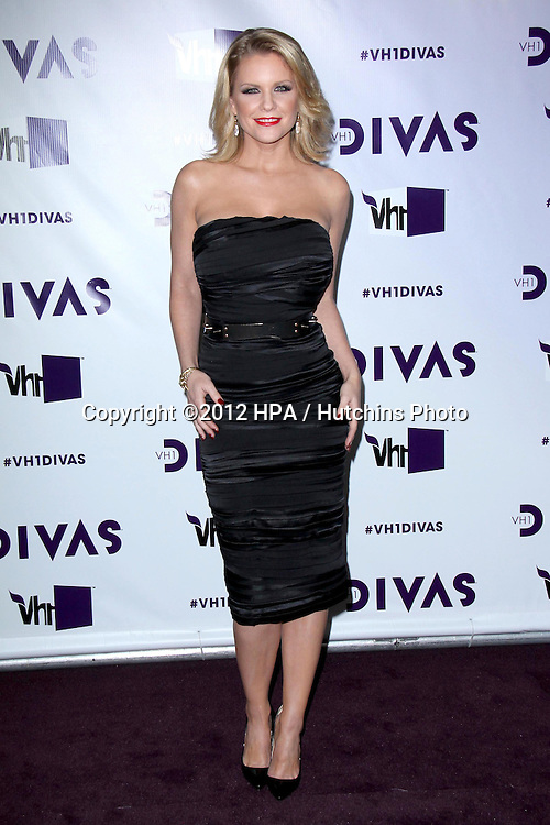 LOS ANGELES - DEC 16:  Carrie Keagan arriving at the VH1 Divas Concert 2012 at Shrine Auditorium on December 16, 2012 in Los Angeles, CA