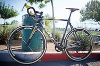 The 2014/2015 Telenet-Fidea team bike by Ridley<br /> <br /> Cross Vegas 2014