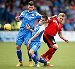 Martyn Waghorn shuts up Andy Dowie and Darren Brownlie