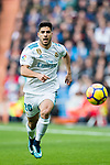 Marco Asensio Willemsen of Real Madrid in action during the La Liga 2017-18 match between Real Madrid and Sevilla FC at Santiago Bernabeu Stadium on 09 December 2017 in Madrid, Spain. Photo by Diego Souto / Power Sport Images