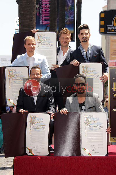 Brian Littrell, Howie Dorough, Nick Carter, AJ McLean, Kevin Richardson<br />