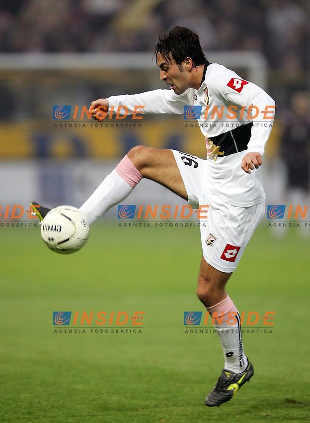 Mattia Cassani (Palermo)<br /> Italian &quot;Serie A&quot; 2006-07 <br /> 3 December 2006 (Match Day 14) <br /> Parma-Palermo (0-0) <br /> &quot;Ennio Tardini&quot; Stadium-Parma-Italy <br /> Photographer Andrea Staccioli INSIDE