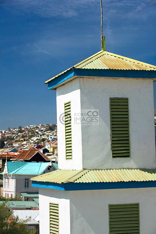 CHURCH TOWER AVENIDA CUMMING  CERRO ALEGRE VALPARAISO CHILE