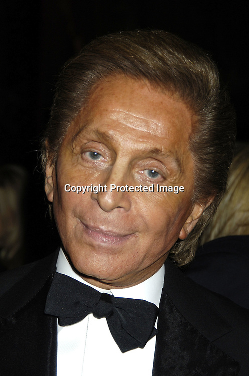 Valentino ..at The Fashion Group International's  22nd Annual Night of Stars Awards on October 27, 2005 at Cipriani. ..Sandra Bullock was presented with the Hunanitarian Award..Photo by Robin Platzer, Twin Images