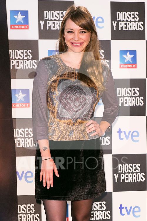 "Miriam Benoit attends the ""DIOSES Y PERROS "" Movie presentation at Kinepolis Cinema in Madrid, Spain. October 6, 2014. (ALTERPHOTOS/Carlos Dafonte)"