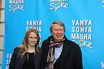 "Andre Bishop & daughter Katie at Broadway's ""Vanya and Sonia and Masha and Spike"" which had its opening night on March 14, 2013 at the Golden Theatre, New York City, New York.  (Photo by Sue Coflin/Max Photos)"