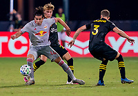 16th July 2020, Orlando, Florida, USA;  New York Red Bulls forward Brian White (42) during the MLS Is Back Tournament between the Columbus Crew SC versus New York Red Bulls on July 16, 2020 at the ESPN Wide World of Sports, Orlando FL.