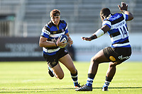 Darren Atkins of Bath United in possession. Aviva A-League match, between Bath United and Saracens Storm on September 1, 2017 at the Recreation Ground in Bath, England. Photo by: Patrick Khachfe / Onside Images