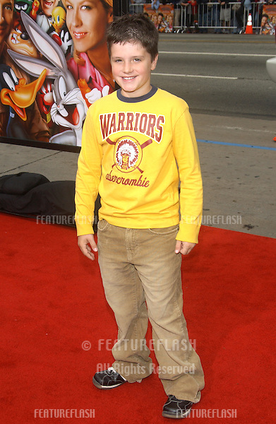 Actor JOSH HUTCHERSON at the world premiere, in Hollywood, of Looney Tunes Back in Action..November 9, 2003